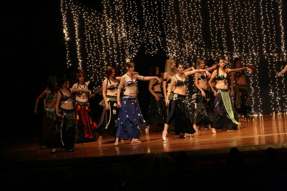 Belly Dance Babes Tribal Group Dance